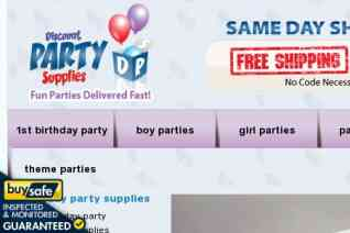 Discount Party Supplies reviews and complaints
