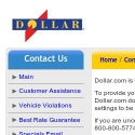 Dollar Rent A Car reviews and complaints