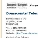 Domacomtel Telecom AG