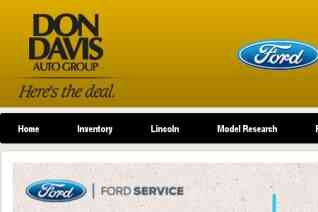 Don Davis Ford reviews and complaints