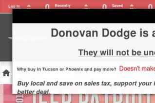 Donovan Chrysler Dodge Jeep Ram reviews and complaints
