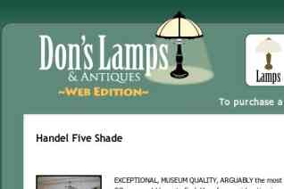 Dons Lamps and Antiques reviews and complaints