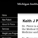 Dr Keith Pierce