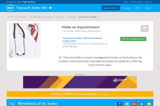 Dr Thomas M Keller Md reviews and complaints