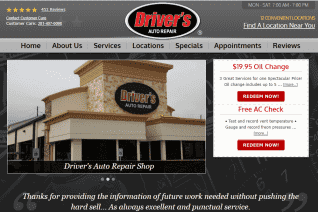 Drivers Auto Repair reviews and complaints