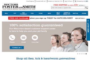 Drs Foster And Smith reviews and complaints