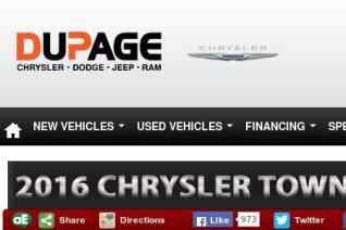 DuPage Chrysler Dodge Jeep RAM reviews and complaints