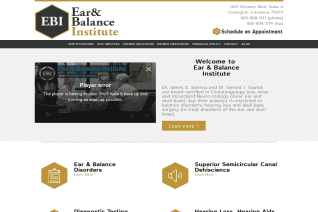 Ear and Balance Institute reviews and complaints