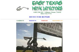 East Texas Metal Detectors reviews and complaints