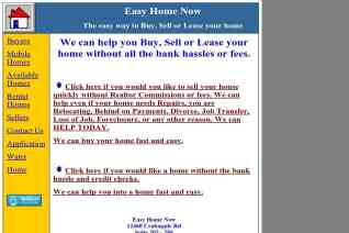 Easy Home Now reviews and complaints