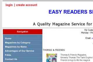 Easy Readers Service reviews and complaints