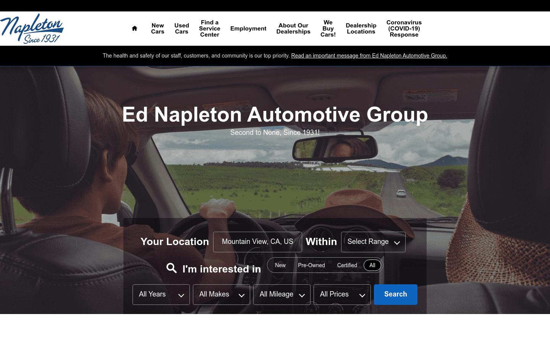 Ed Napleton Automotive Group reviews and complaints