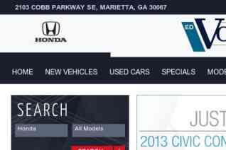Ed Voyles Honda Dealership reviews and complaints