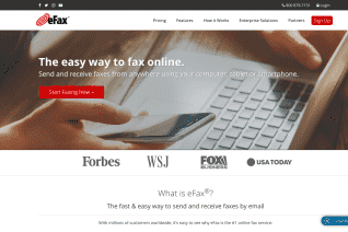 eFax reviews and complaints