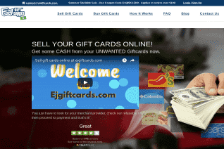ejGiftCards reviews and complaints