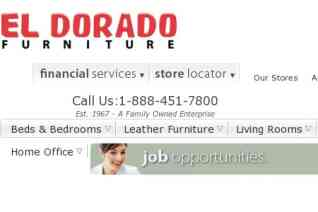 El Dorado Furniture reviews and complaints