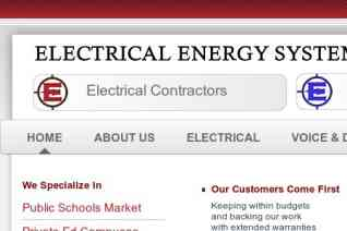 ELECTRICAL ENERGY SYSTEMS reviews and complaints
