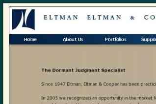 Eltman Eltman Cooper reviews and complaints