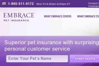 Embrace Pet Insurance reviews and complaints