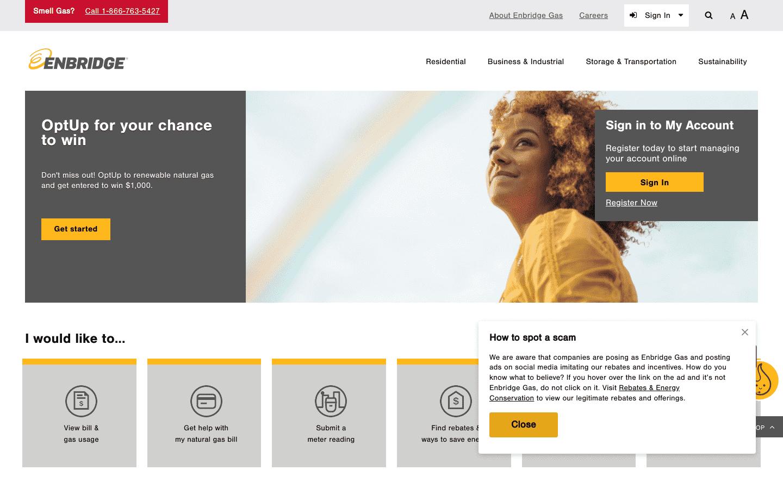 Enbridge Gas reviews and complaints