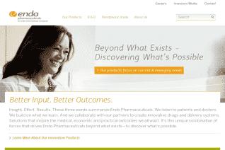 Endo Pharmaceuticals reviews and complaints