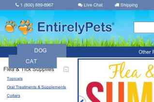 EntirelyPets reviews and complaints
