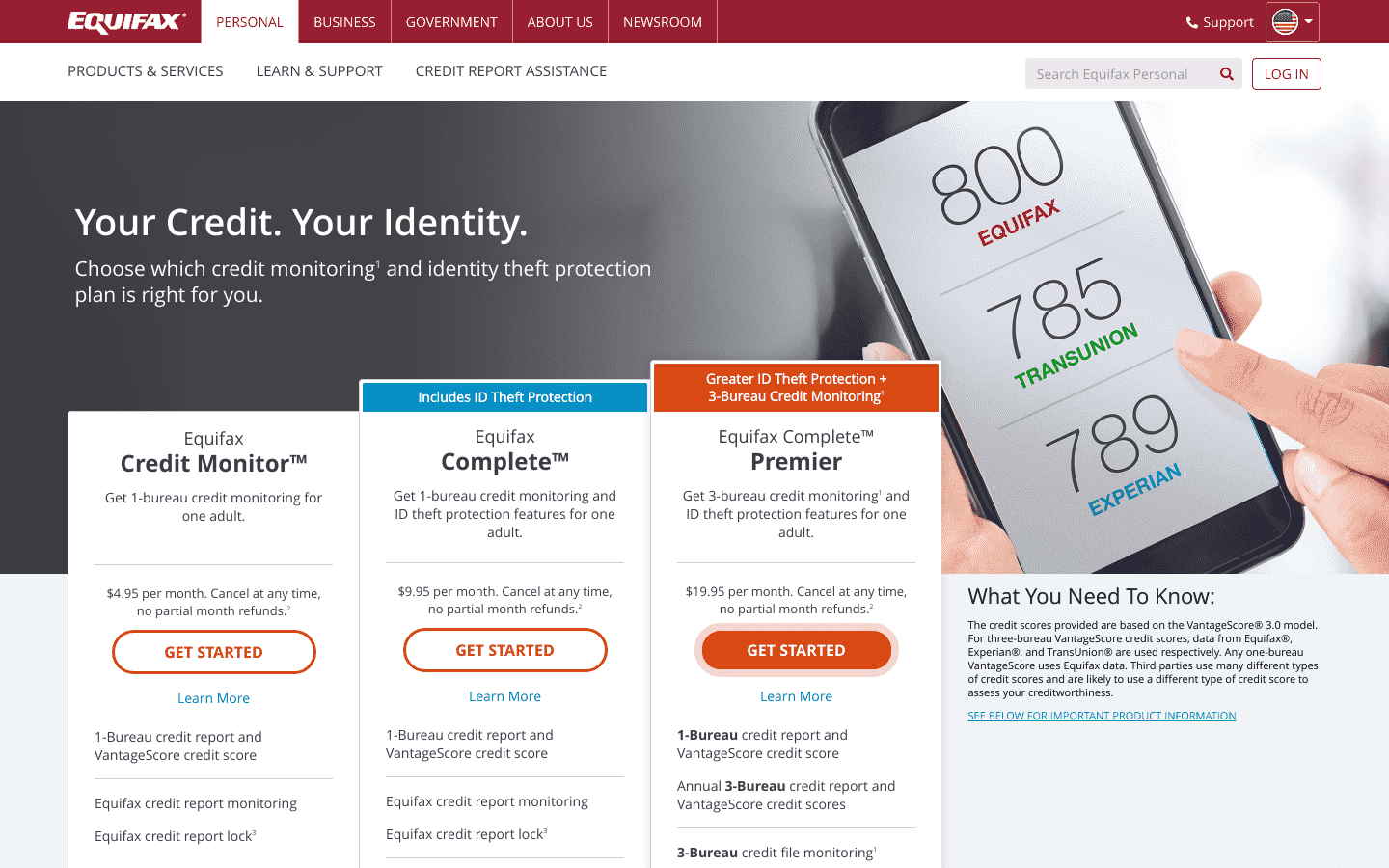 Equifax reviews and complaints