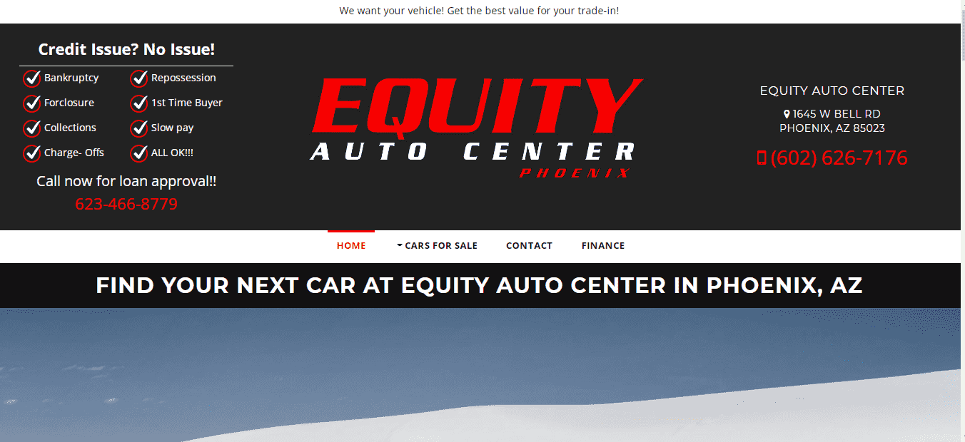 Equity Auto Center reviews and complaints