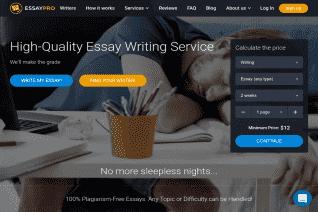 EssayPro reviews and complaints