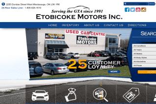Etobicoke Motors reviews and complaints