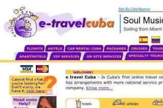 ETravelCuba reviews and complaints