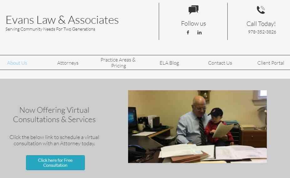 Evans Law Associates reviews and complaints