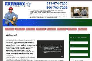EverDry Waterproofing Of Cincinnati reviews and complaints