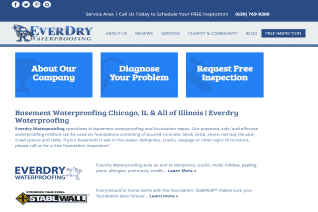 EverDry Waterproofing Of Illinois reviews and complaints