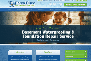 EverDry Waterproofing Of Toledo reviews and complaints