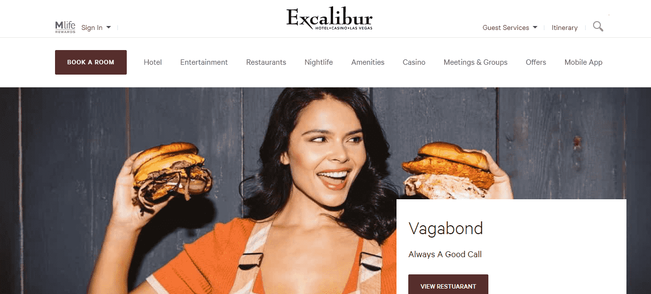 Excalibur Hotel and Casino reviews and complaints