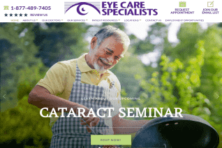 Eye Care Specialists reviews and complaints