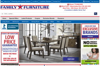 Family Furniture Of America reviews and complaints