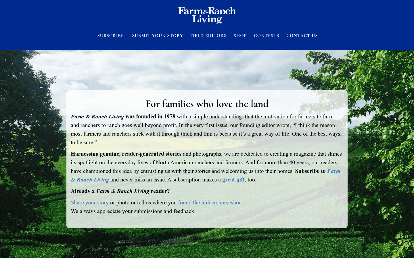 Farm And Ranch Living reviews and complaints