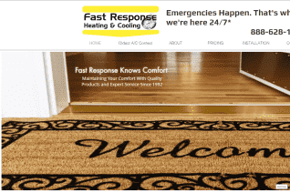 Fast Response Heating And Cooling reviews and complaints