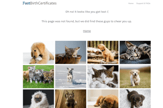 Fastbirthcertificates Com reviews and complaints
