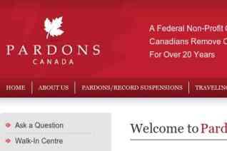 Federal Pardons Canada reviews and complaints