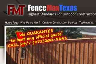 Fence MaxTexas reviews and complaints