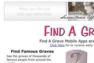 Find A Grave reviews and complaints
