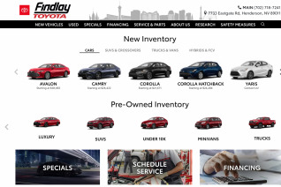 Findlay Toyota reviews and complaints