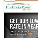 First Choice Power reviews and complaints