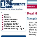 First Convenience Bank reviews and complaints