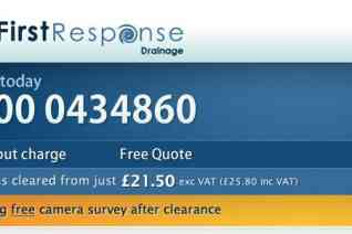First Response Drainage reviews and complaints
