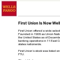 First Union Bank