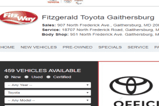 Fitzgerald Toyota Gaithersburg reviews and complaints